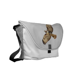 Red Tailed Hawk Bird Wildlife Animal Raptor Messenger Bag