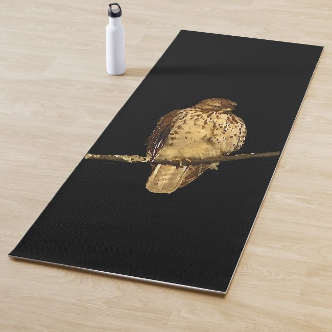 Red Tailed Hawk Bird Yoga Mat