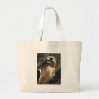 Red-tailed Hawk/Buzzard Large Tote Bag