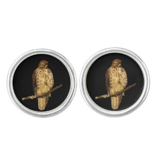 Red Tailed Hawk Cuff Links