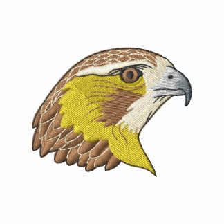 Red-tailed Hawk Embroidered Polo Shirt