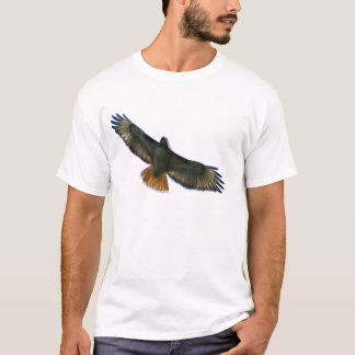 RED TAILED HAWK FLYING T-Shirt