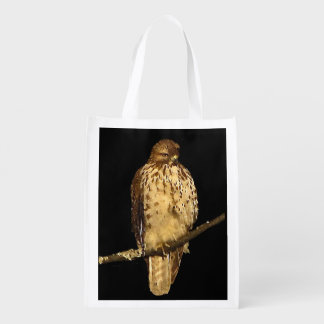 Red-Tailed Hawk Grocery Bag