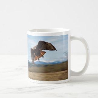 Red Tailed Hawk Haiku mug