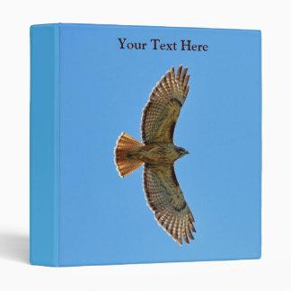 Red-Tailed Hawk in Flight 3 Ring Binder