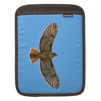 Red-Tailed Hawk in Flight iPad Sleeve