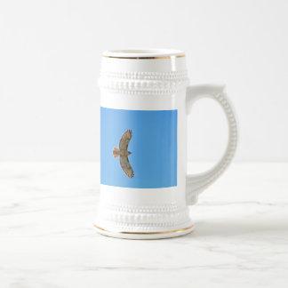 Red-Tailed Hawk in Flight Mug