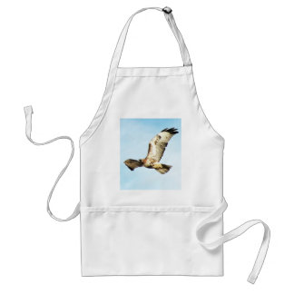 Red-tailed Hawk in Flight Photo Aprons