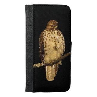 Red Tailed Hawk iPhone 6 Plus Wallet Case