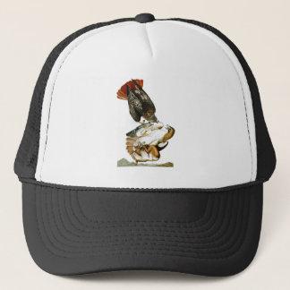 Red-tailed Hawk John James Audubon Birds America Trucker Hat