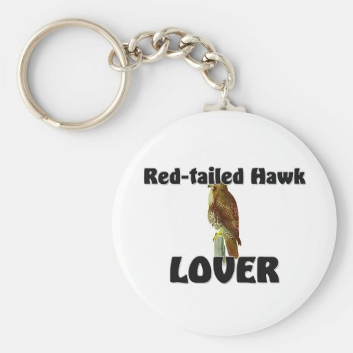 Red-Tailed Hawk Lover Key Chains