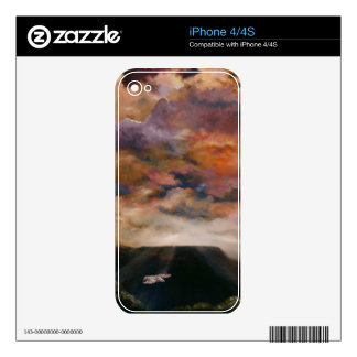 Red-tailed Hawk Mobile Phone iPhone Skins Skin For The iPhone 4S