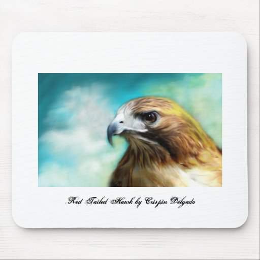 Red Tailed Hawk Mouse Pads