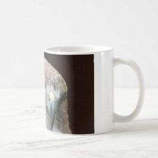 Red tailed hawk coffee mugs