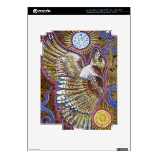 Red-Tailed Hawk Painting Decals For iPad 3