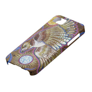 Red-Tailed Hawk Painting iPhone 5 Cases