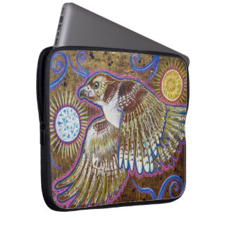 Red-Tailed Hawk Painting Laptop Sleeve