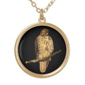 Red Tailed Hawk Pendants