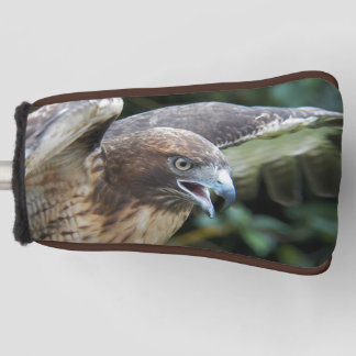 Red-tailed Hawk Photo Golf Head Cover