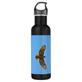 Red-Tailed Hawk Photo Stainless Steel Water Bottle