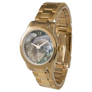 Red-tailed Hawk Photo Wristwatch