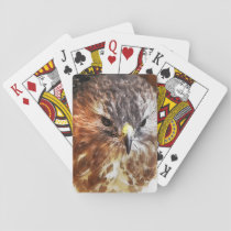 RED TAILED HAWK PLAYING CARDS