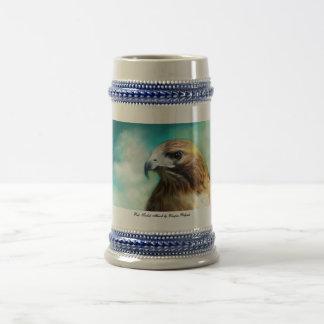 Red Tailed Hawk Stine Mug