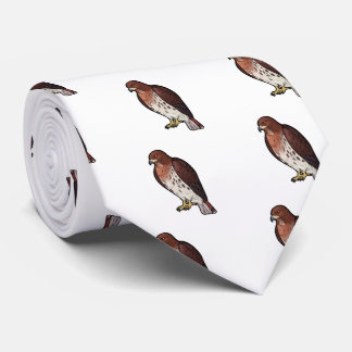 Red-Tailed Hawk Tie