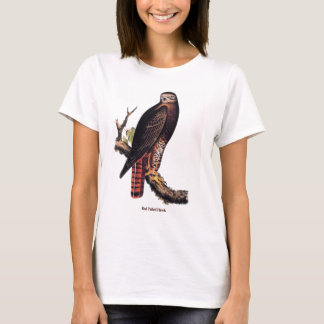 Red Tailed Hawk (titled) T-Shirt