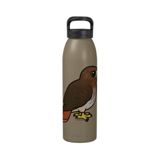 Red-tailed Hawk Water Bottles