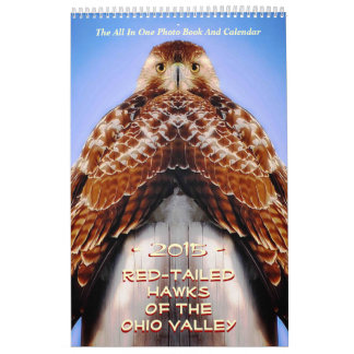 RED TAILED HAWKS OF OHIO CALENDARS