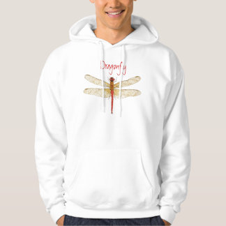 Red-tailed Pennant  Dragonfly Hoodie
