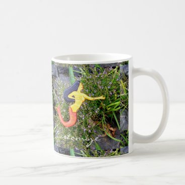 Beach Themed red-tailed sirena mermaids mug