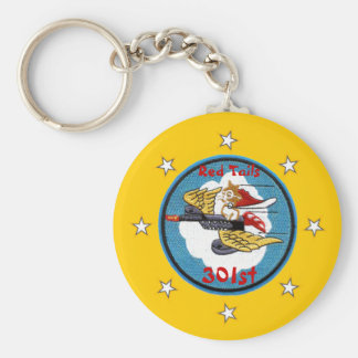 Red Tails - 301st Fighter Squadron Keychain