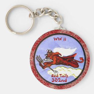 Red Tails - 302nd Fighter Squadron Keychain