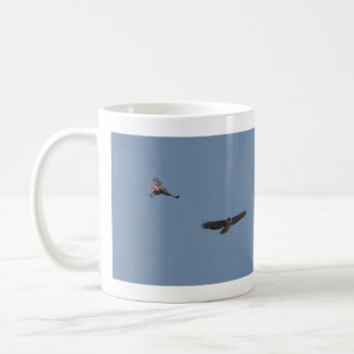 Red Tails Circle 1 Classic White Coffee Mug