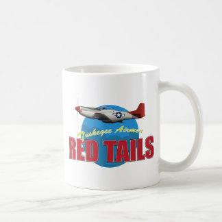 Red Tails Tuskegee Airmen Classic White Coffee Mug