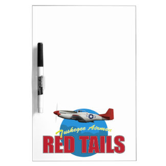 Red Tails Tuskegee Airmen Dry Erase White Board
