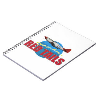 Red Tails Tuskegee Airmen Spiral Note Book