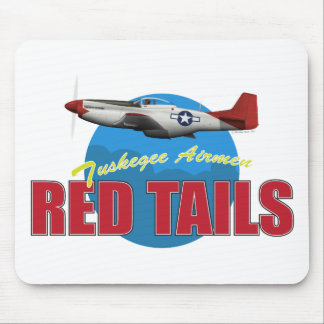 Red Tails Tuskegee Airmen with P-51 Mousepads