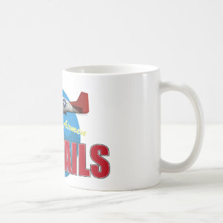 Red Tails Tuskegee Airmen with P-51 Mug