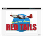 "Red Tails Tuskegee Airmen with P-51 Skins For 15"" Laptops"