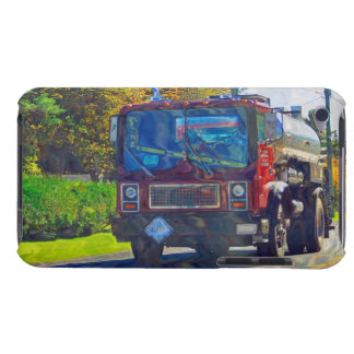 Red Tanker Truck for Truck-lovers iPod Touch Cover