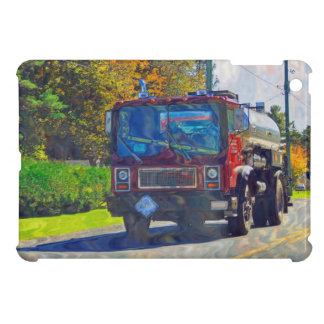 Red Tanker Truck for Truck-lovers Cover For The iPad Mini