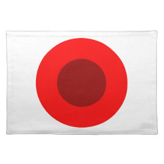 Red Target Cloth Placemat