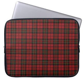 Red Tartan Laptop Sleeve