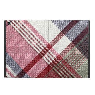 Red Tartan Plaid iPad Air Cover