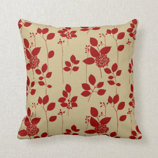 Red Tan And Brown Throw Pillows : Red Brown Taupe Pillows, Red Brown Taupe Throw Pillows