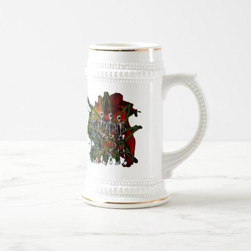 red taza de café