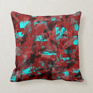 Teal And Red Pillows - Decorative & Throw Pillows Zazzle